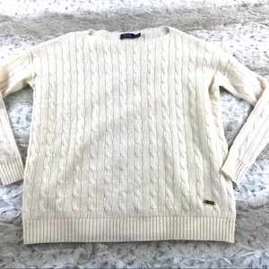 Polo Ralph Lauren Merino Cable Knit Sweater